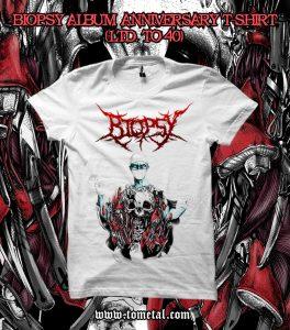 Biopsy (India) - Fractals of Derangement T-shirt