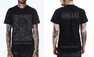 Godless - 'Centuries of Decadence' T-shirt
