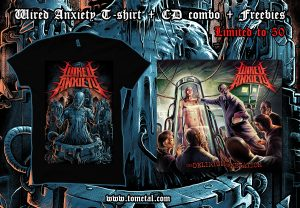 Wired Anxiety T-shirt + CD + Freebies