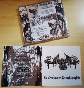 Ossuaire (France) - Le Troubadour Nécrophageophile CD