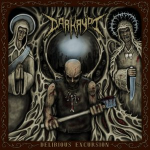 Darkrypt (India) - Delirious Excursion CD (limited to 300)