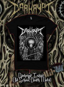 Darkrypt - 'Delirious Excursion' T-shirt (limited edition)