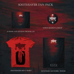 Soothsayer FAN PACK - Digipak + T-shirt + Poster + Badge