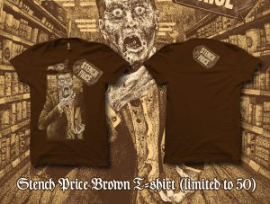 Special Brown Colour STENCH PRICE T-shirt