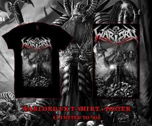 Limited Edition WARLORD UK T-shirt + Poster