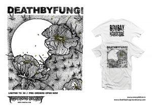Death By Fungi 'Bombay Hardcore' T-shirt