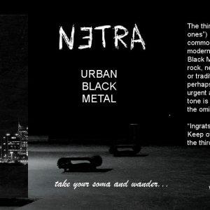 INTERVIEW + SONG PREMIERE: Experimental Black Metal/Trip Hop Artist netra