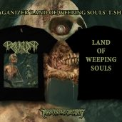 PAGANIZER (Sweden) – 'Land of Weeping Souls' T-SHIRT (Limited to 50 worldwide)