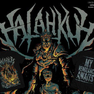 halahkuh-Flyer Tshirt-small
