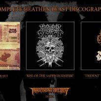 Complete HEATHEN BEAST Discography – 3CD SET!