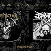 AFFLIKTOR + FETID ZOMBIE 2-CD Combo