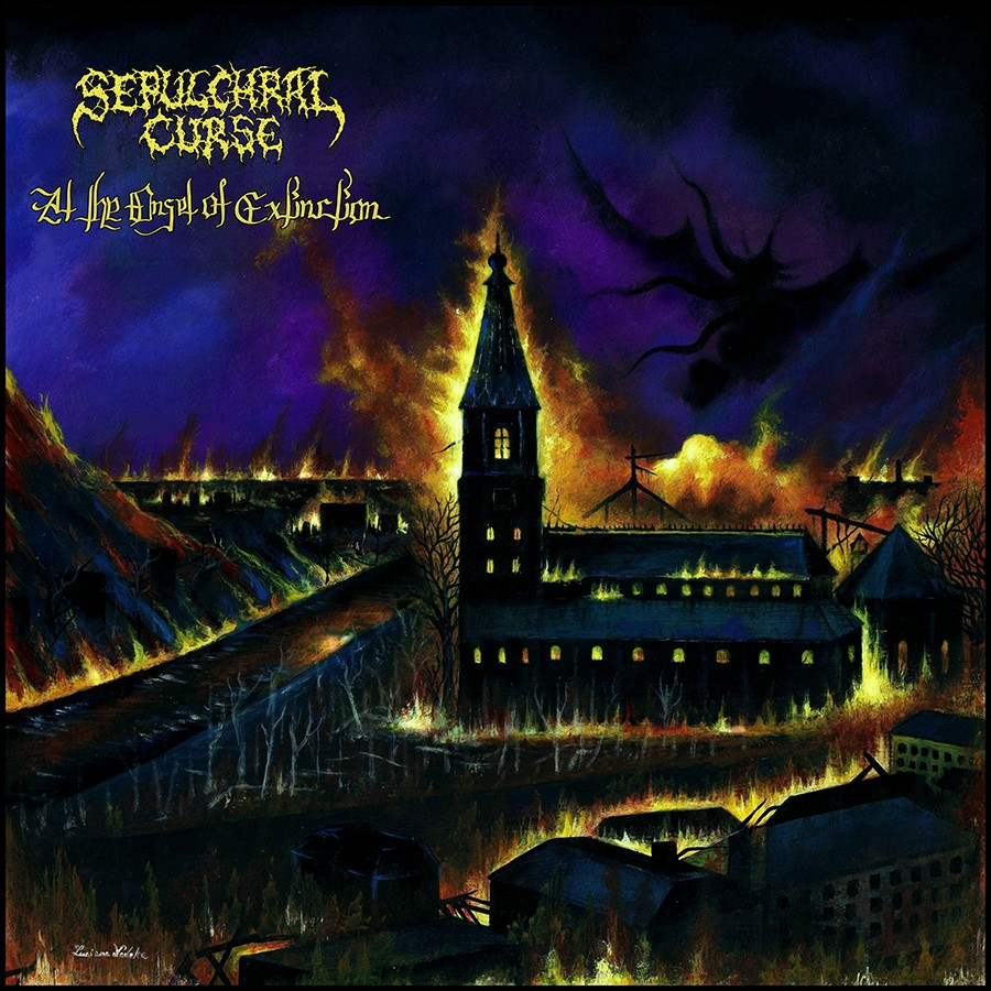 SEPULCHRAL CURSE (Finland) - At the Onset of Extinction CD