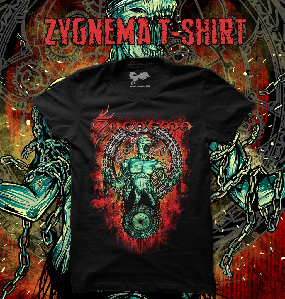 ZYGNEMA Official T-shirt (Last copies remain!)