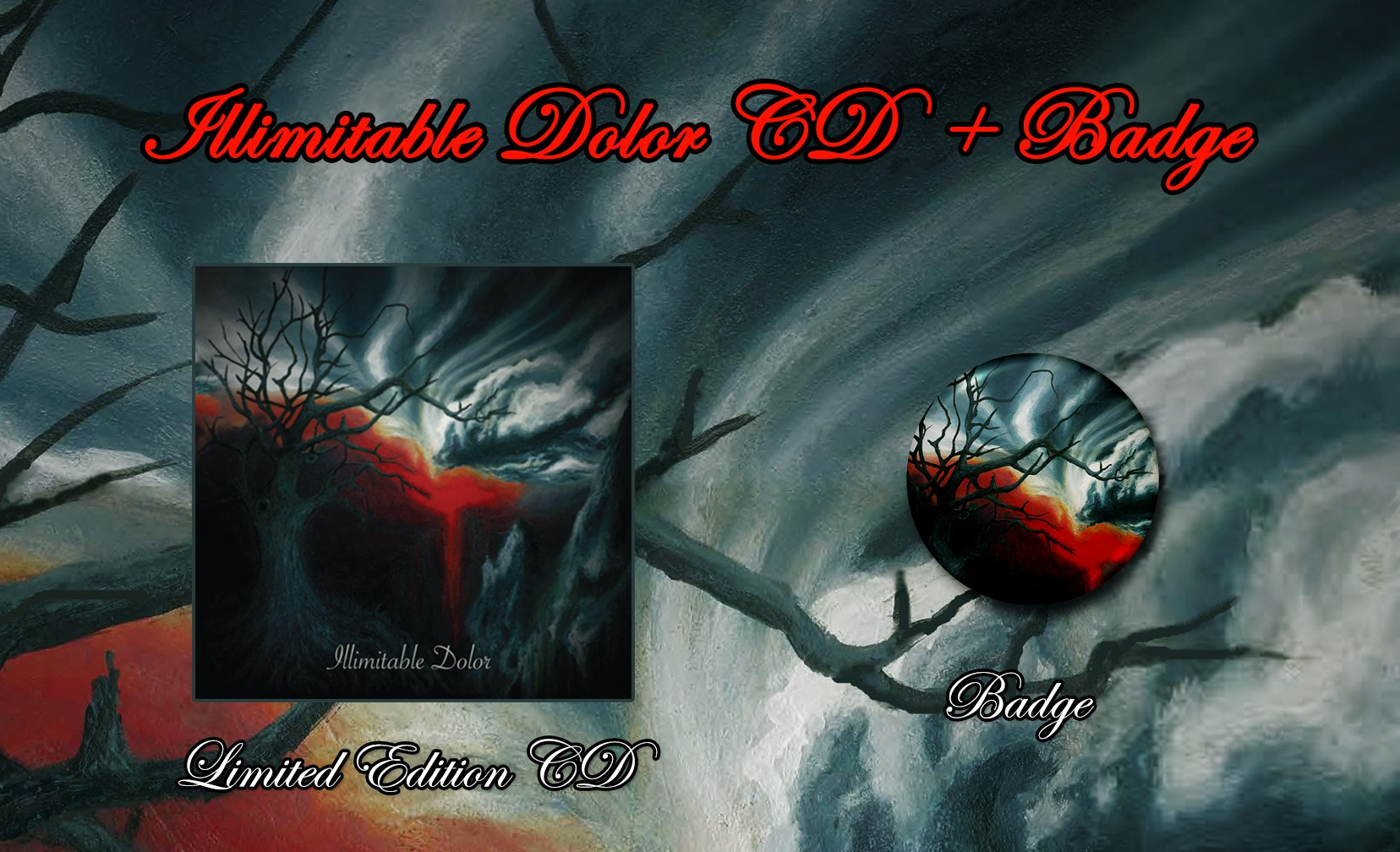 Illimitable Dolor (Australia) - Self-titled CD