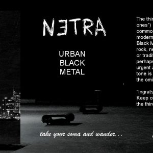 INTERVIEW + SONG PREMIERE: Experimental Black Metal/Trip Hop Artist netra