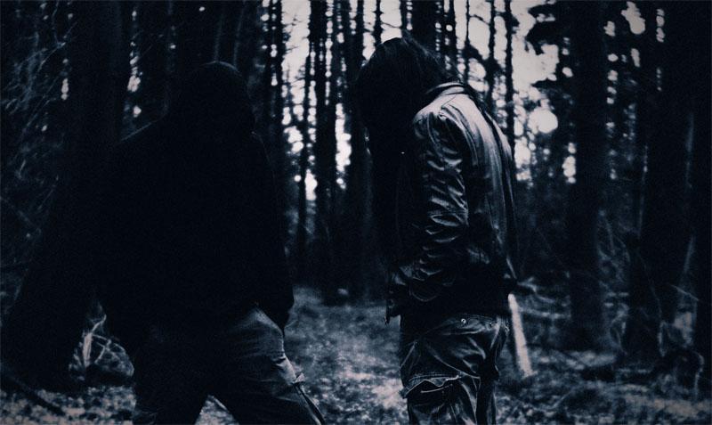 Persian black metal duo Zurvan.