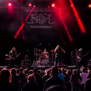Swedish death metal band FERAL sign to Transcending Obscurity Records