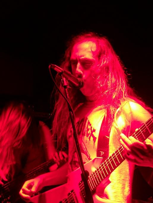 Denver's Blood Incantation, playing live at the Til-Two Club in San Diego.