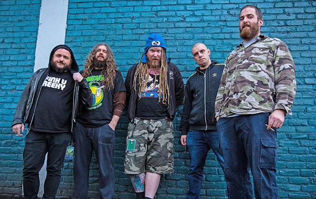 Band promo photo for King Parrot (Australia).