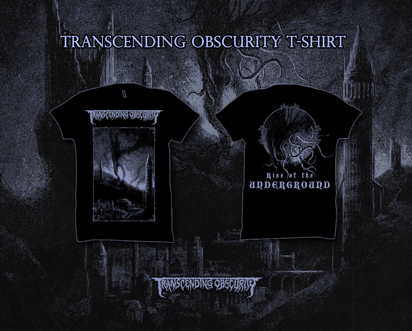 2018 Transcending Obscurity T-shirt (front and back print)