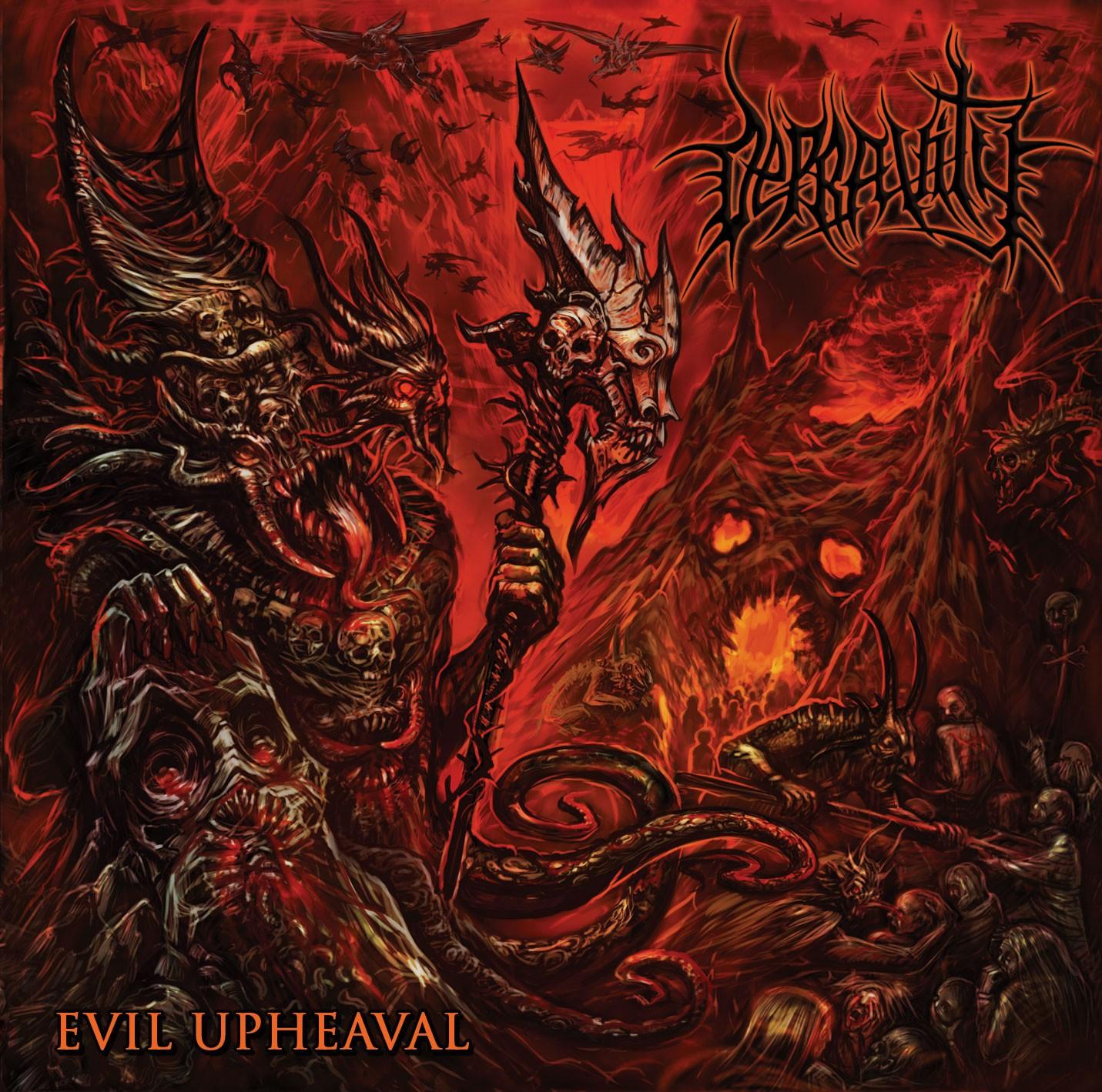 Depravity (Australia) - 'Evil Upheaval' CD