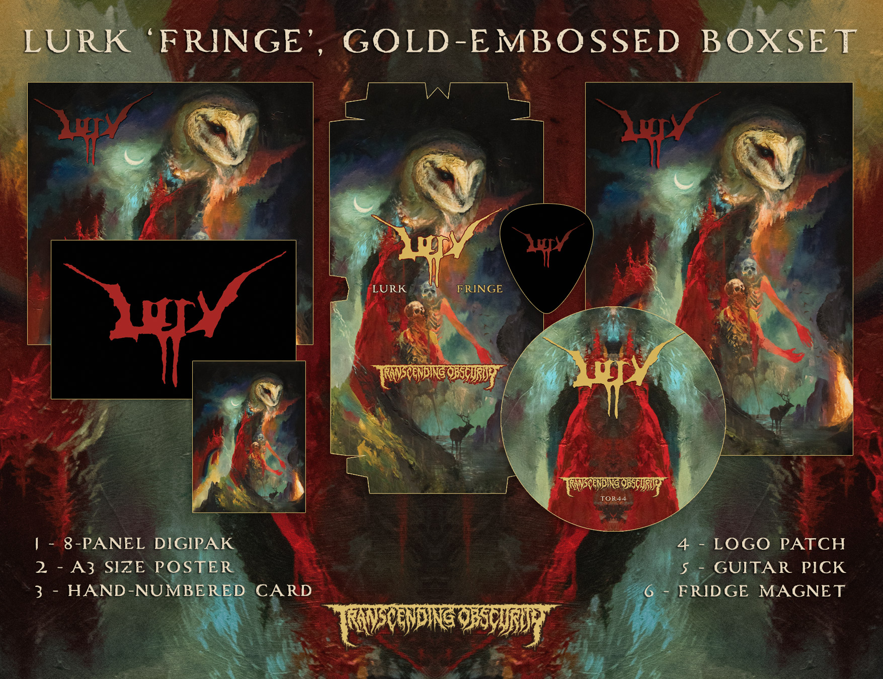 CRAWL - Rituals Box Set (Autographed and handnumbered to 150)