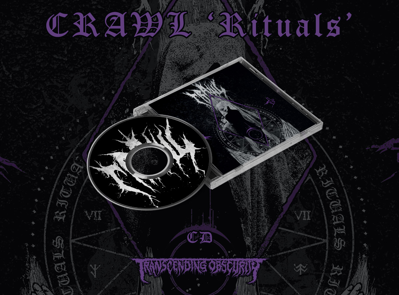 CRAWL (Sweden) - Rituals CD (Limited to 300)