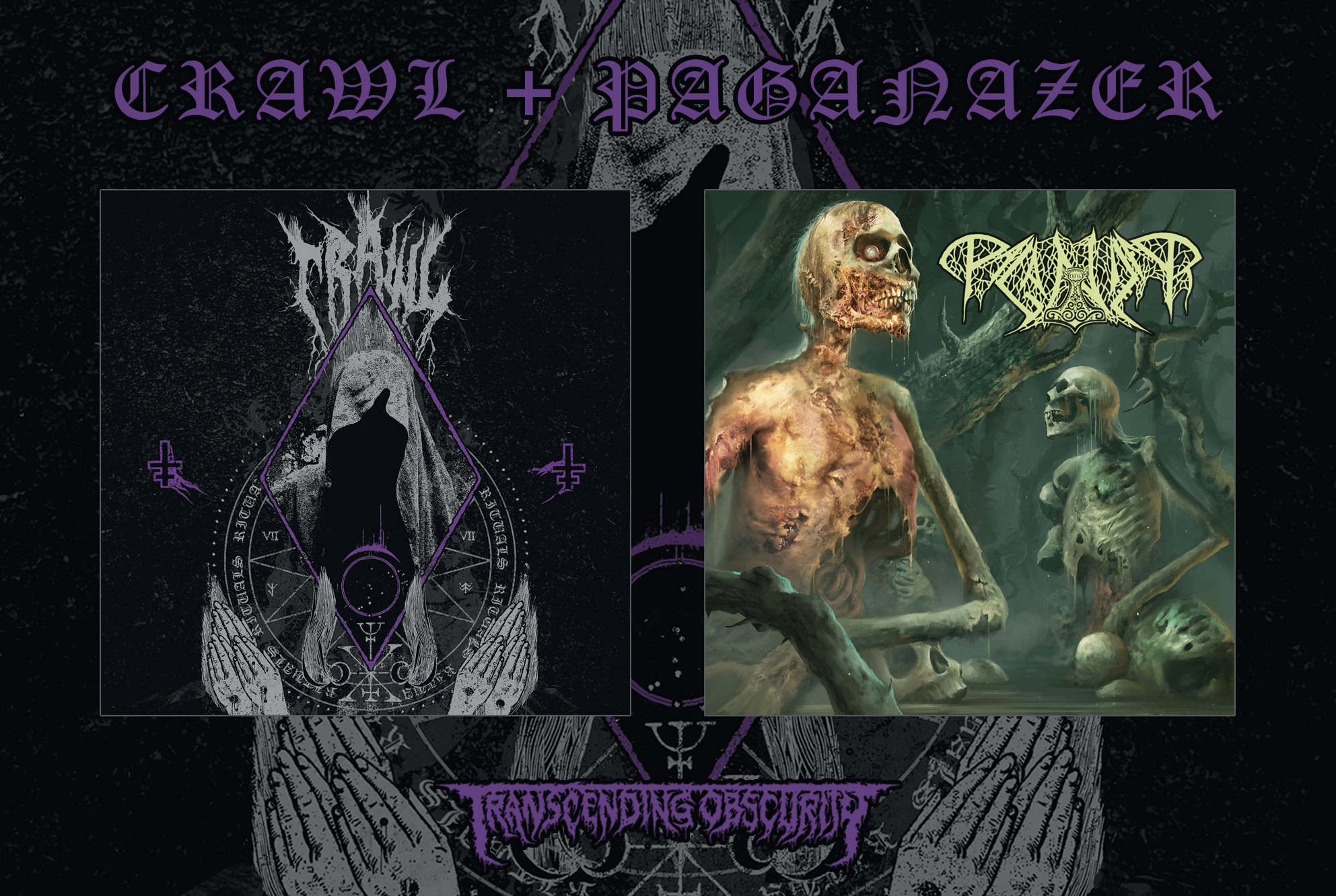 Swedish Death Metal Special - CRAWL + PAGANIZER 2-CD Combo