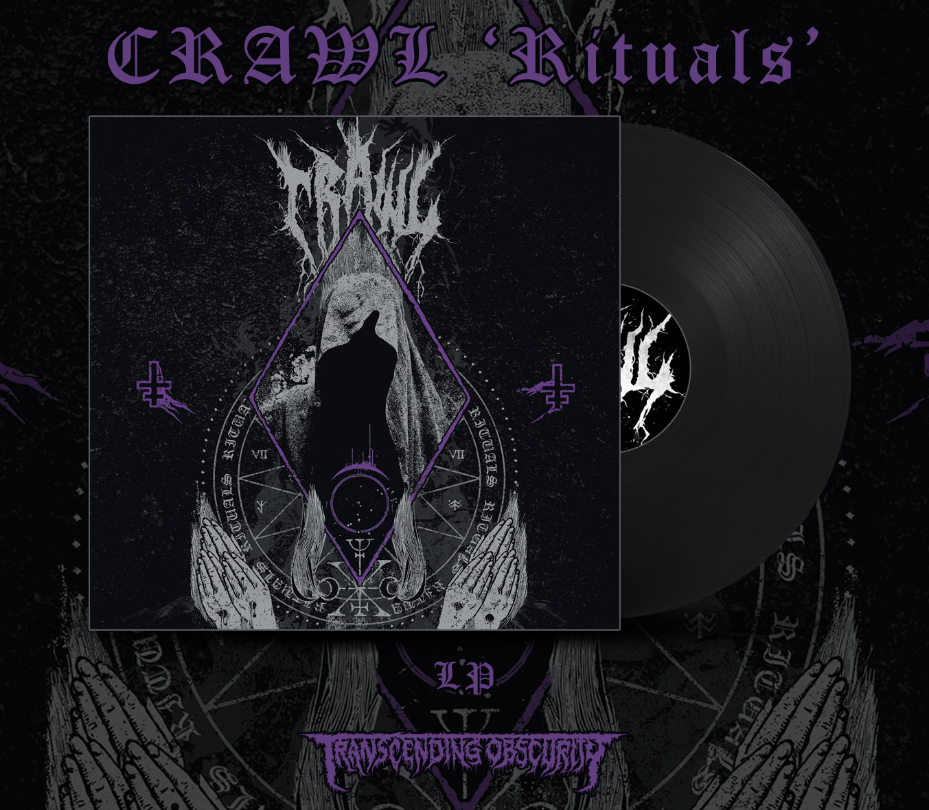 CRAWL (Sweden) - Rituals LP (Limited to 100)