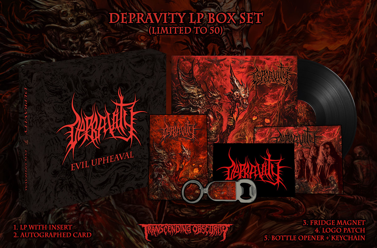 Depravity LP Box Set (Limited to 50)