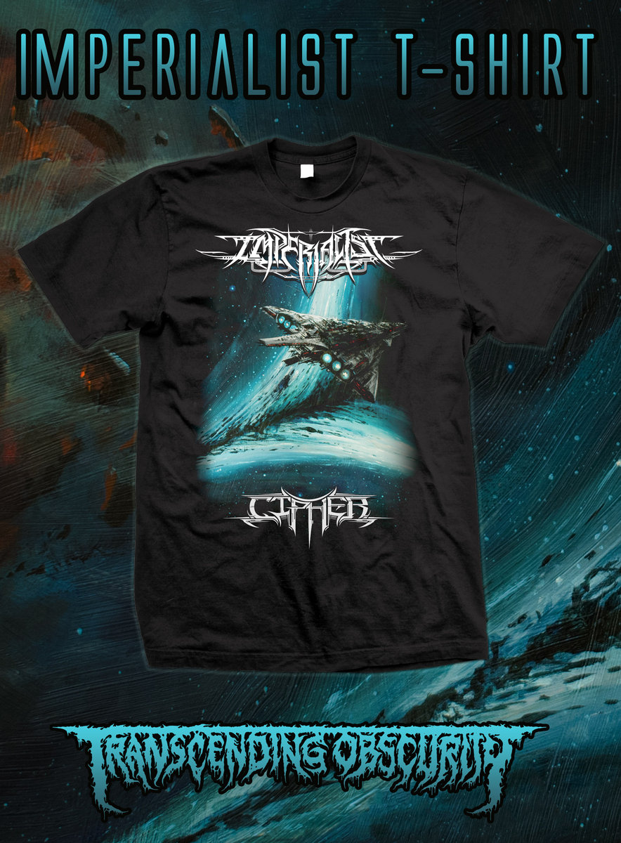 IMPERIALIST (US) - Cipher T-shirt (Gildan sizing)
