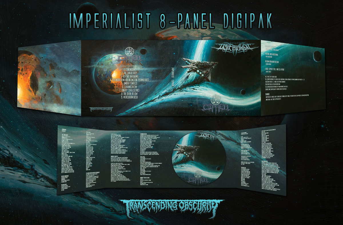 IMPERIALIST (US) - Cipher 8-Panel Digipak CD
