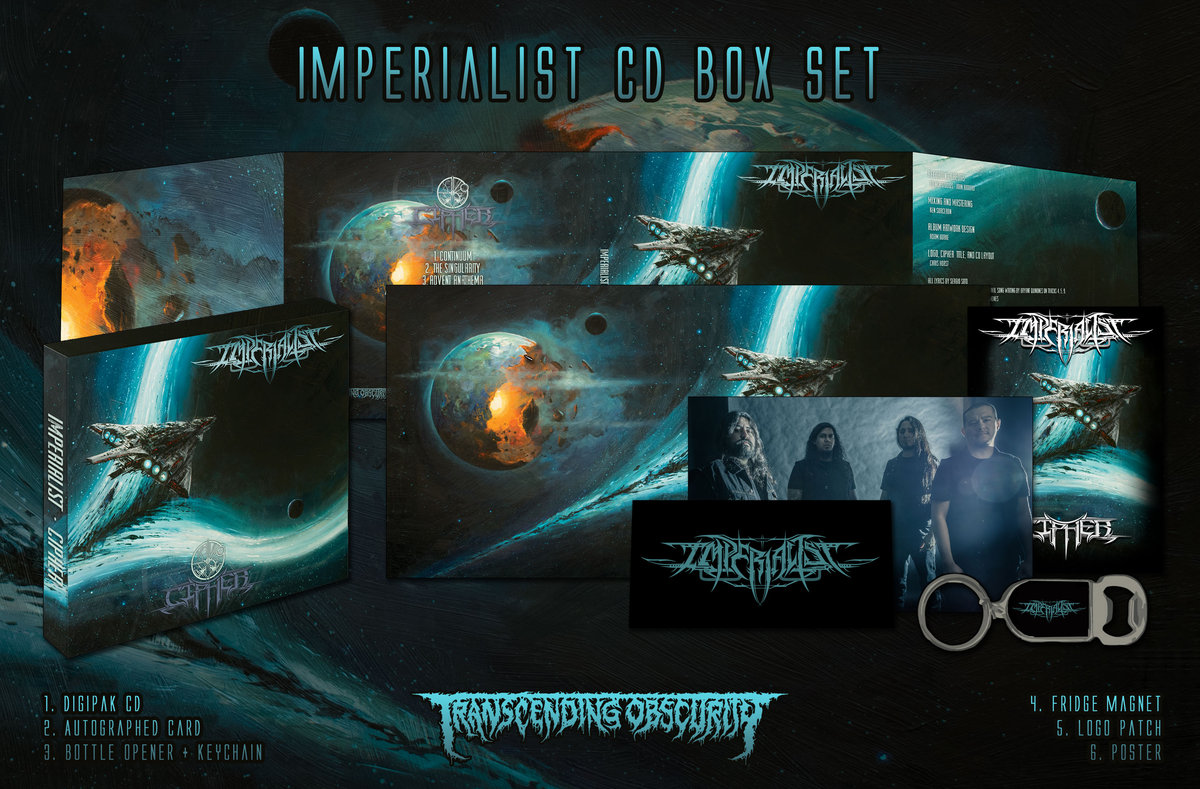 IMPERIALIST CD Box Set (Limited to 100)