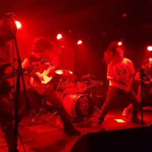 UK band LIVE BURIAL playing old school death metal sign to Transcending Obscurity Records