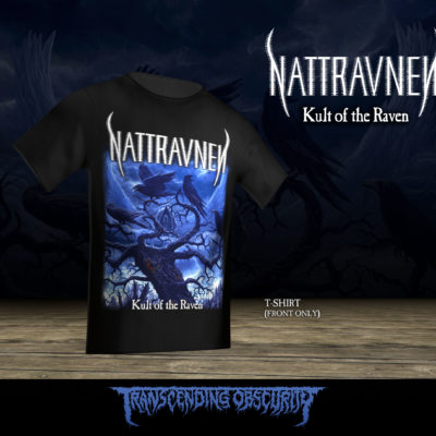 343010ef93 ... NATTRAVNEN (US UK) -  Kult of the Raven  T-shirt (Gildan size) ...