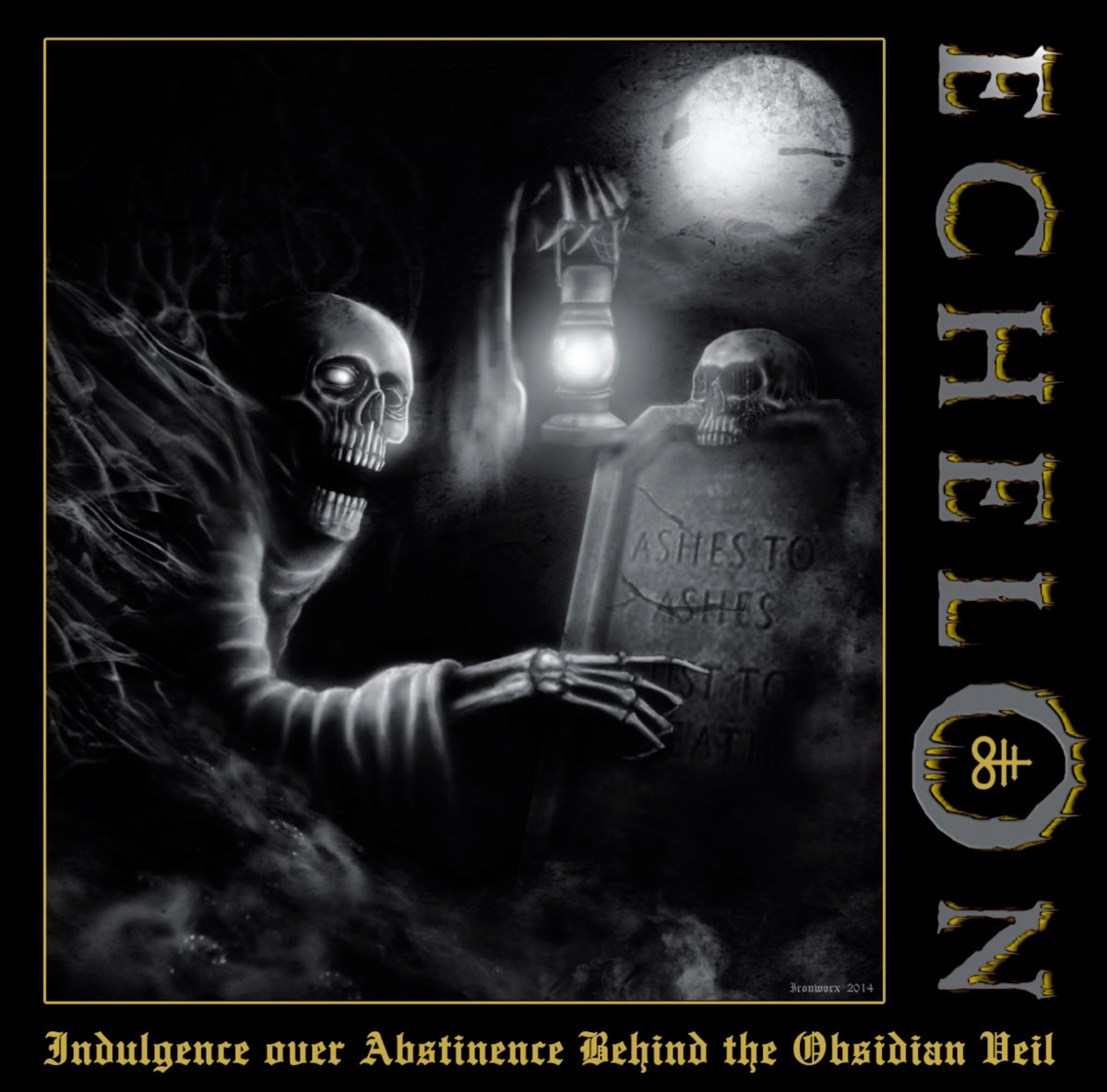 ECHELON - Indulgence Over Abstinence Behind The Obsidian Veil CD