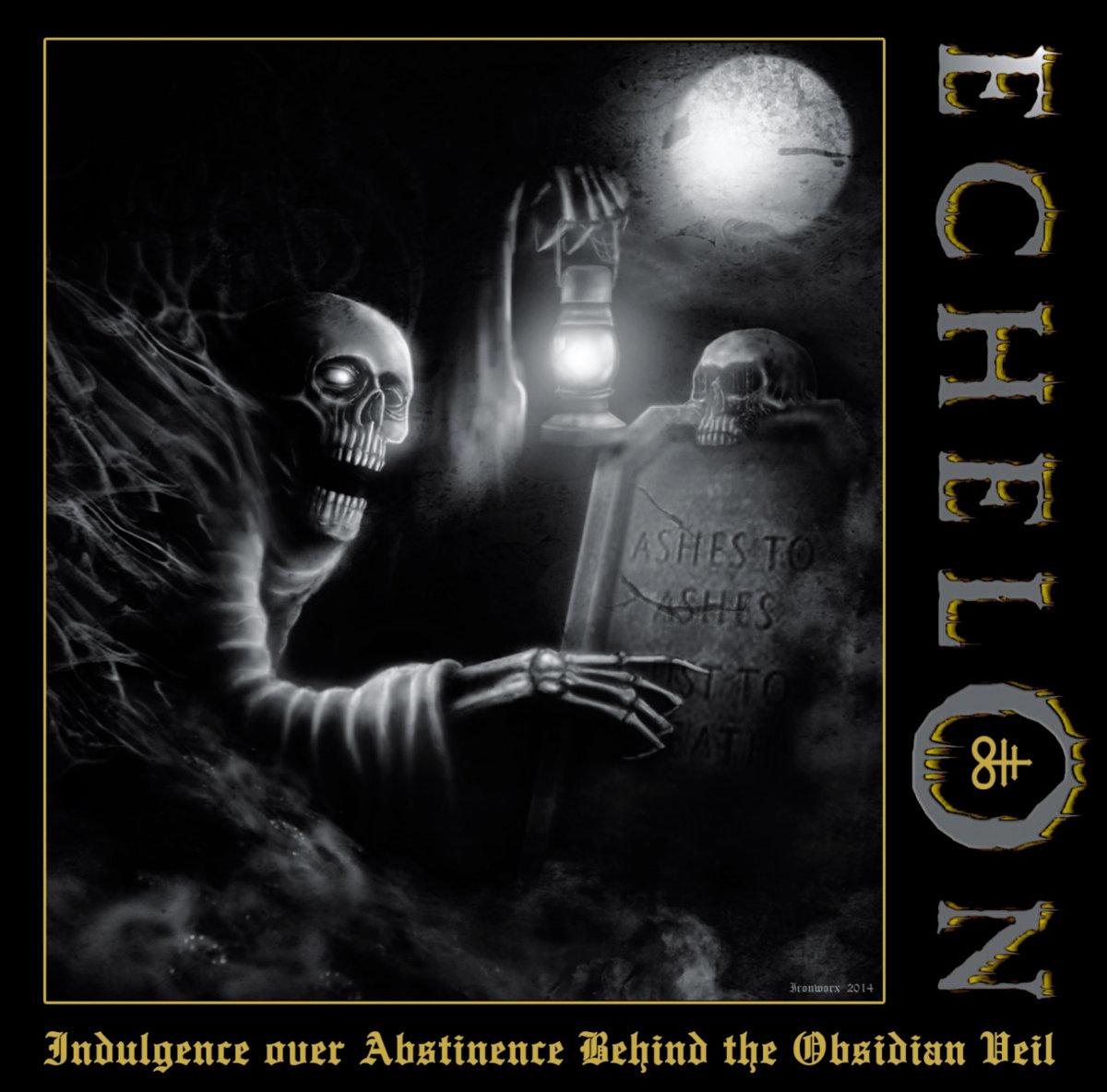 ECHELON - Indulgence Over Abstinence Behind The Obsidian Veil CD