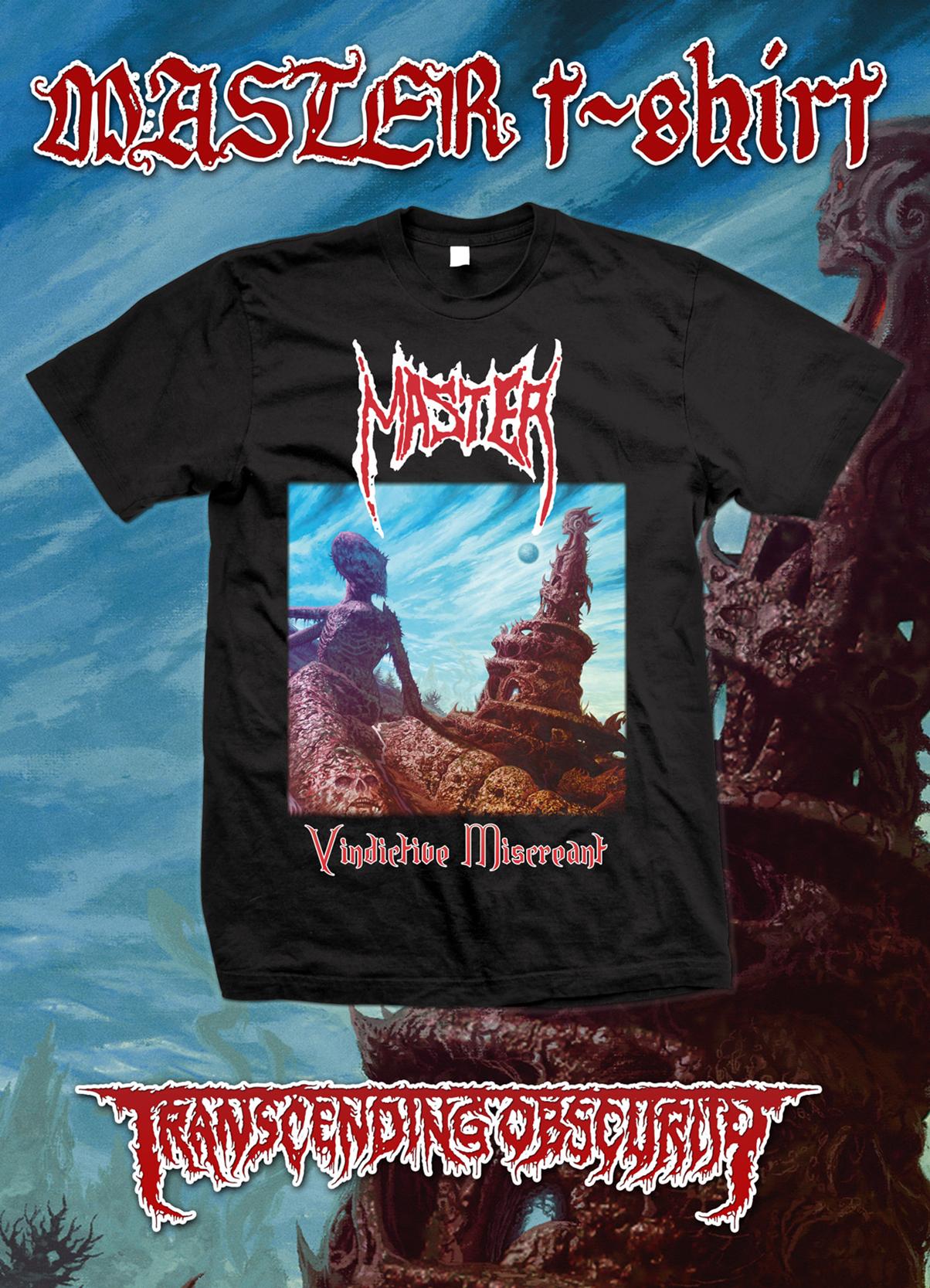 MASTER (Czech Republic) - Vindictive Miscreant T-shirt (Gildan size)