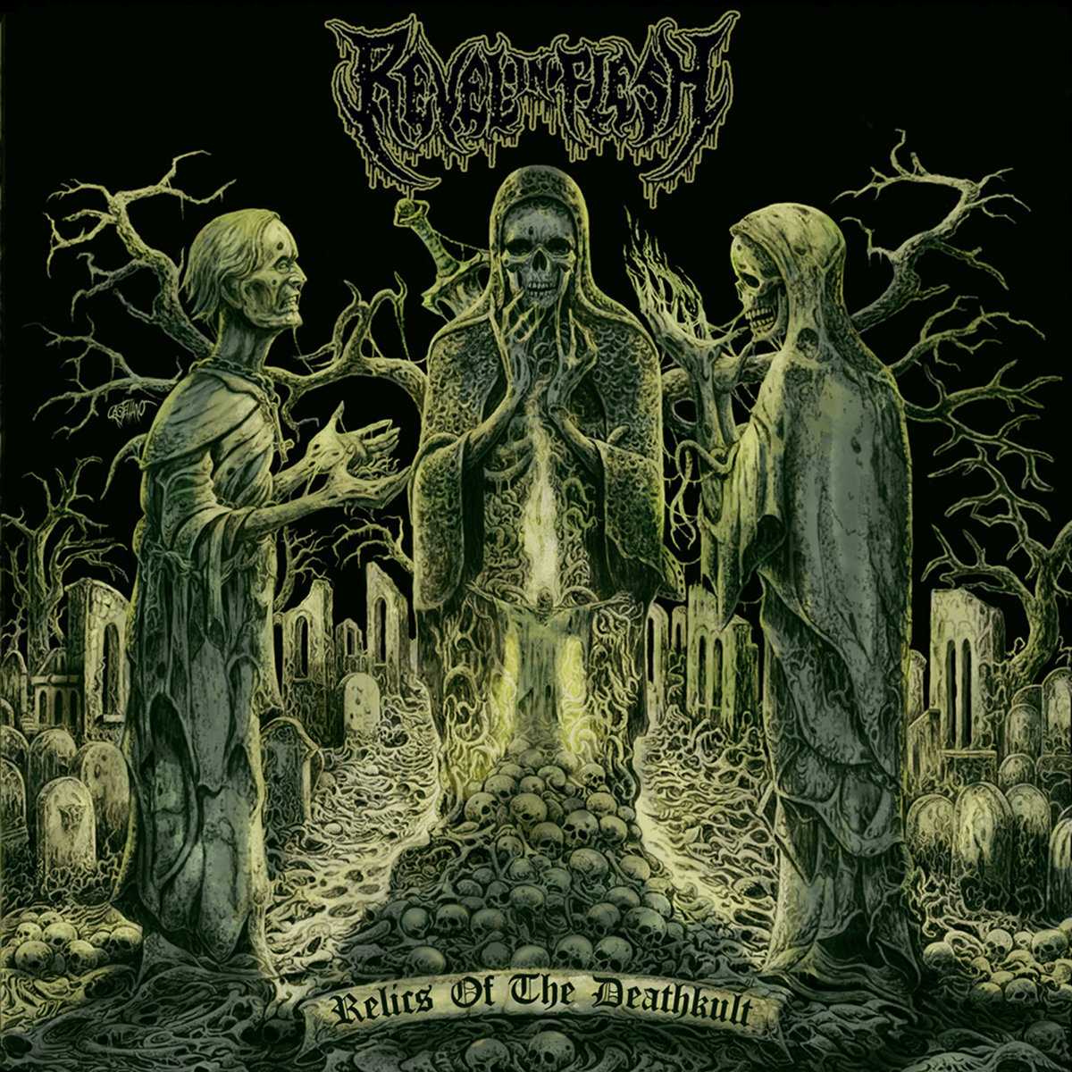 REVEL IN FLESH - Relics of the Deathkult CD