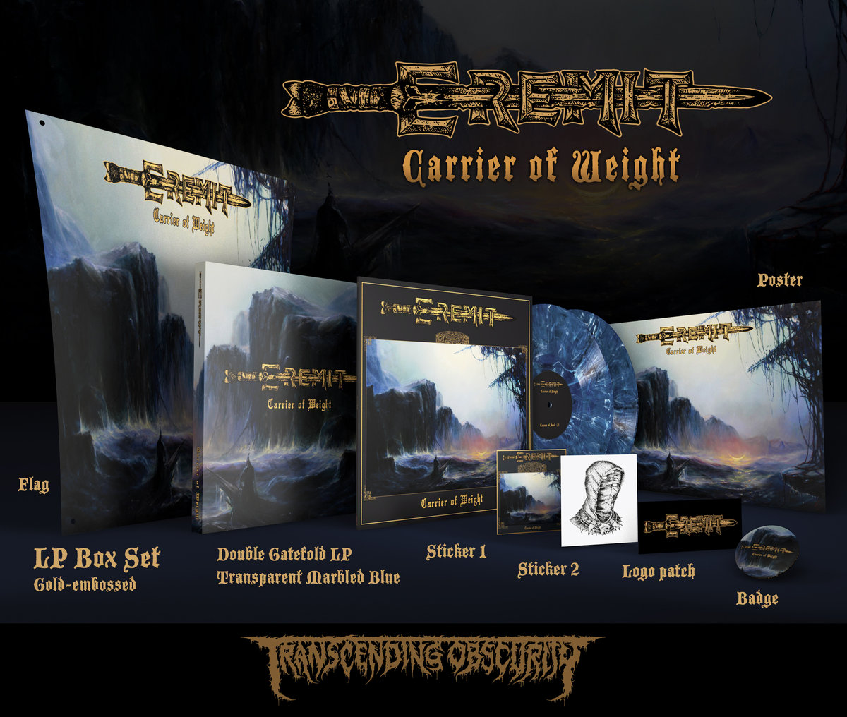 EREMIT (Germany) - 'Carrier of Weight' Double LP Box Set (Limited to 30)