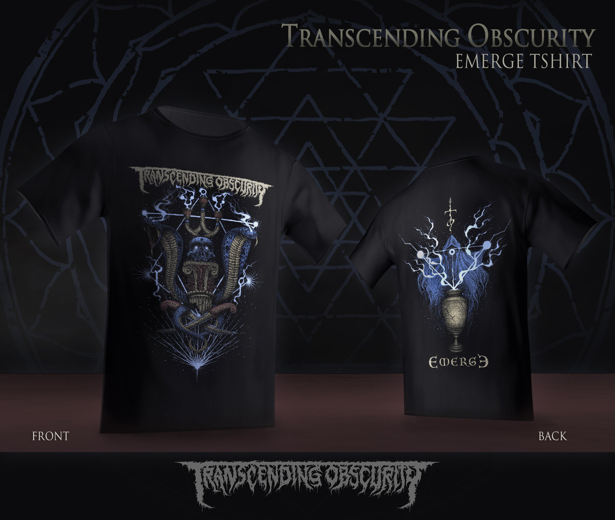 Transcending Obscurity 2019 Label Sampler T-shirt