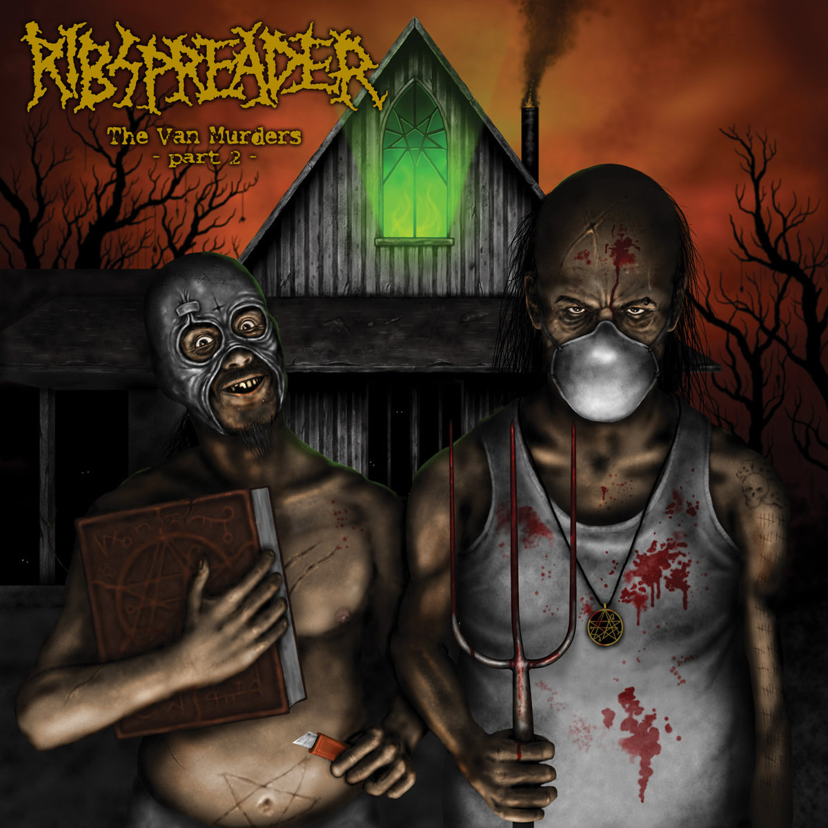 RIBSPREADER - The Van Murders - Part 2  CD