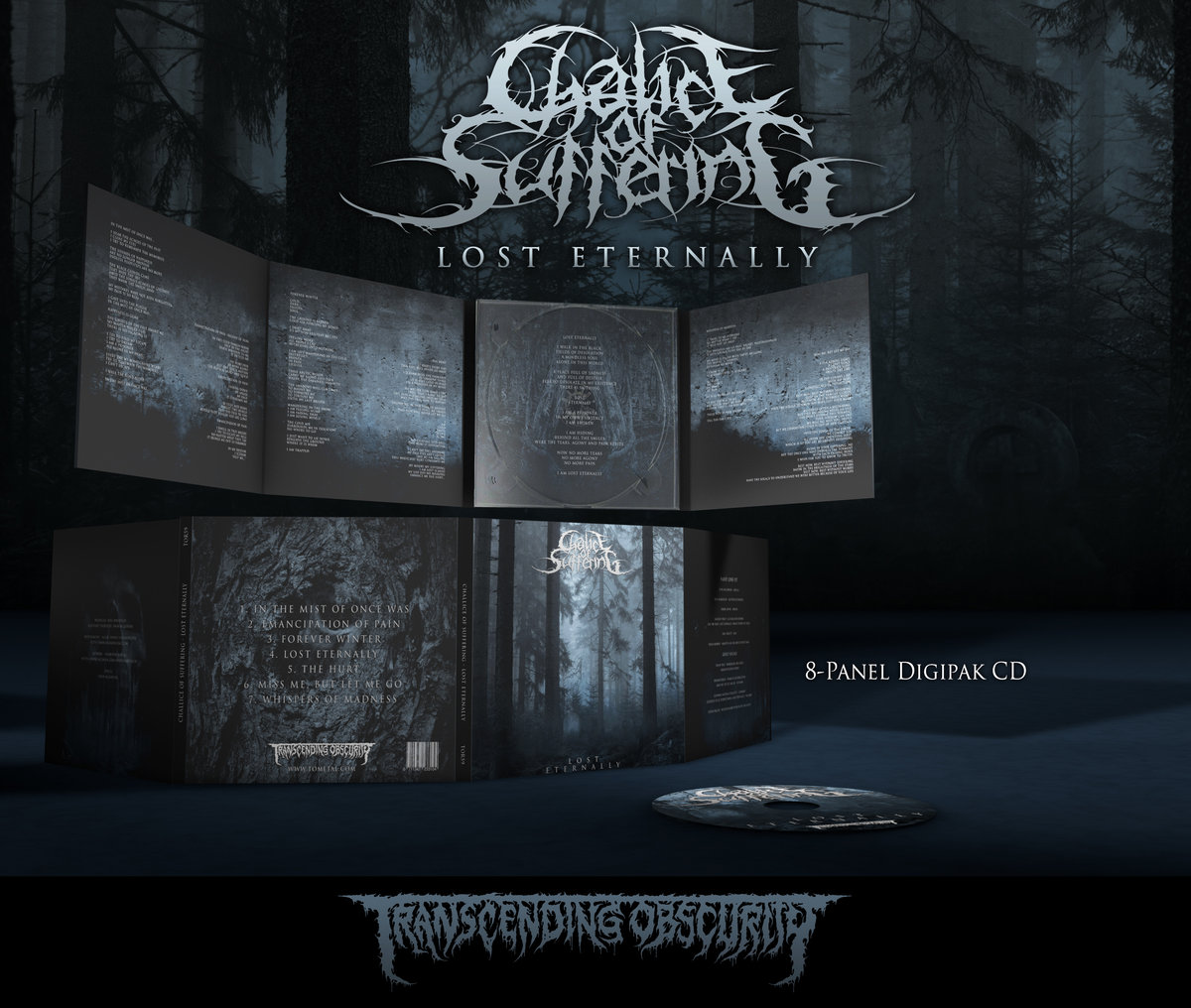 CHALICE OF SUFFERING (US) - Lost Eternally 8-Panel Digipak CD