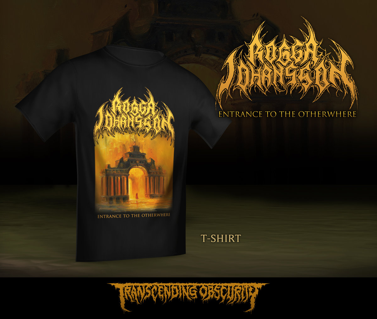 ROGGA JOHANSSON Album Artwork T-shirt (Limited to 35)