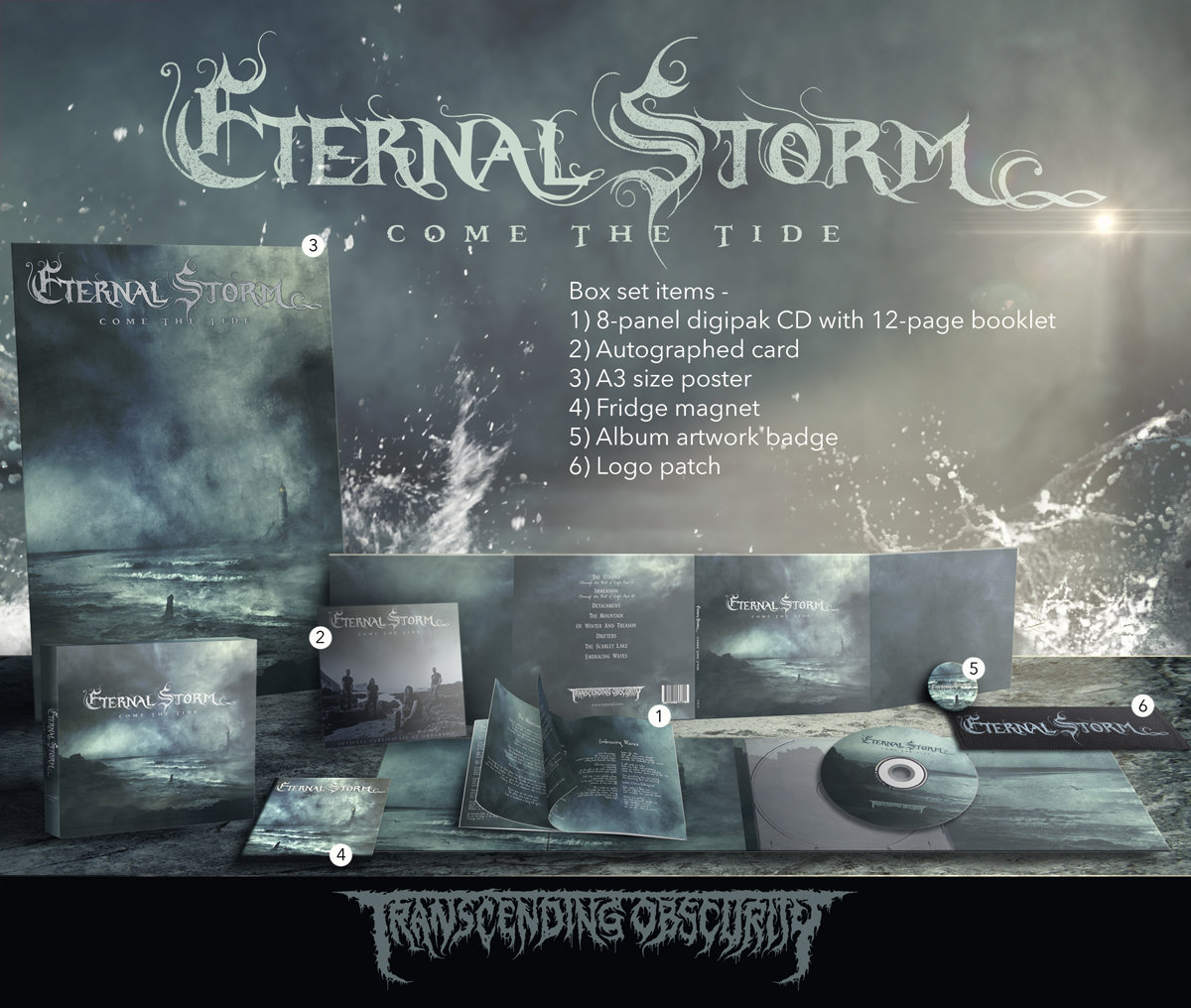 ETERNAL STORM Autographed Limited Edition CD Box Set