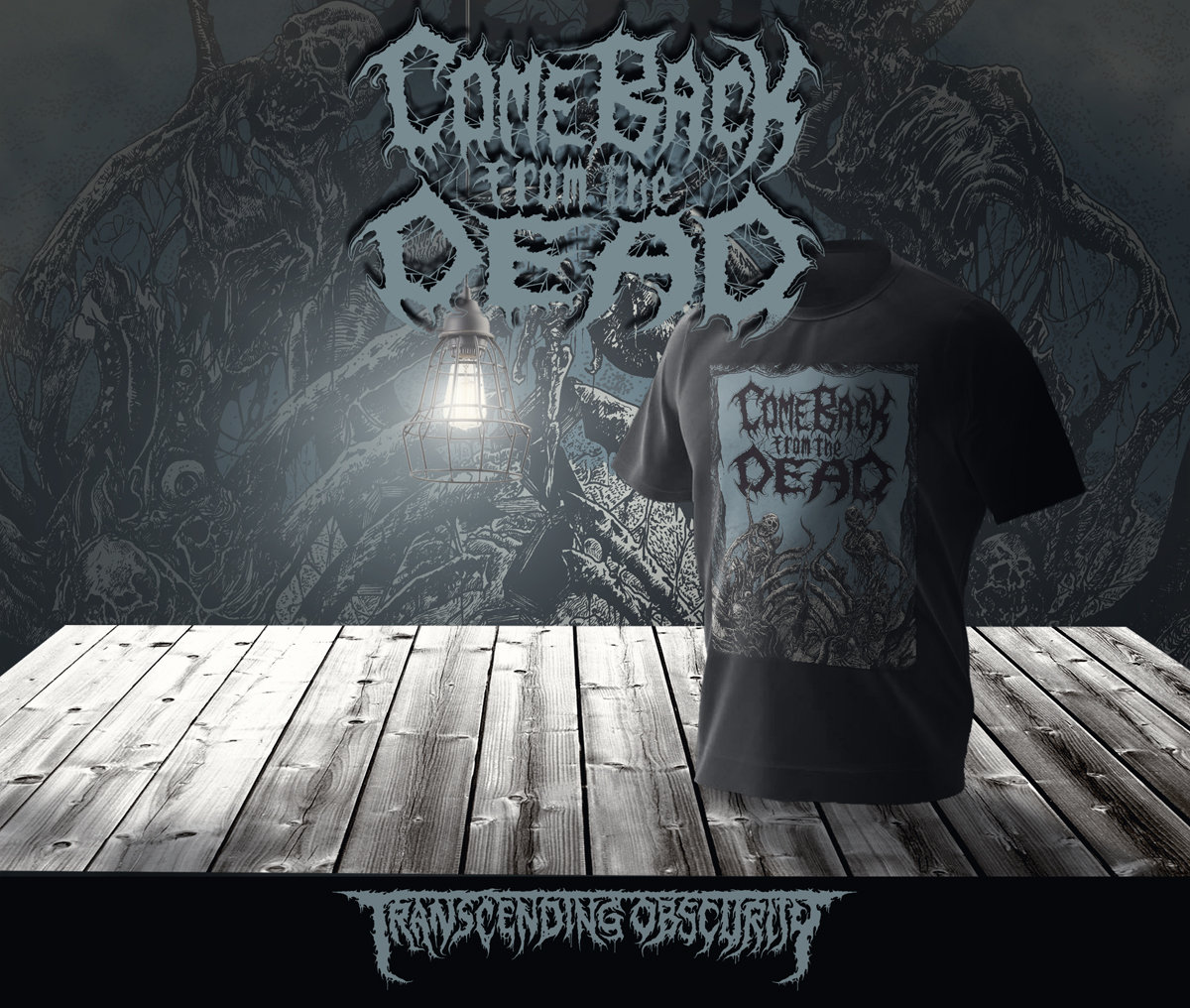 COME BACK FROM THE DEAD Album Artwork T-shirt (240 GSM Premium Cotton Quality)