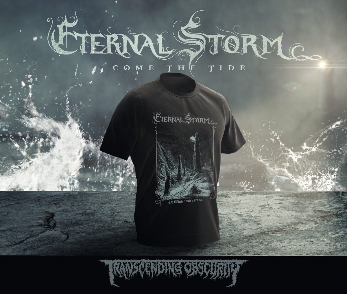 ETERNAL STORM (Spain) - Come The Tide T-shirt (Pre-orders only!)