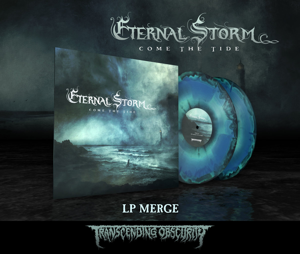 ETERNAL STORM -  Come The Tide (Death Metal) Tri-Colour Merge Double LP (Limited to 75)