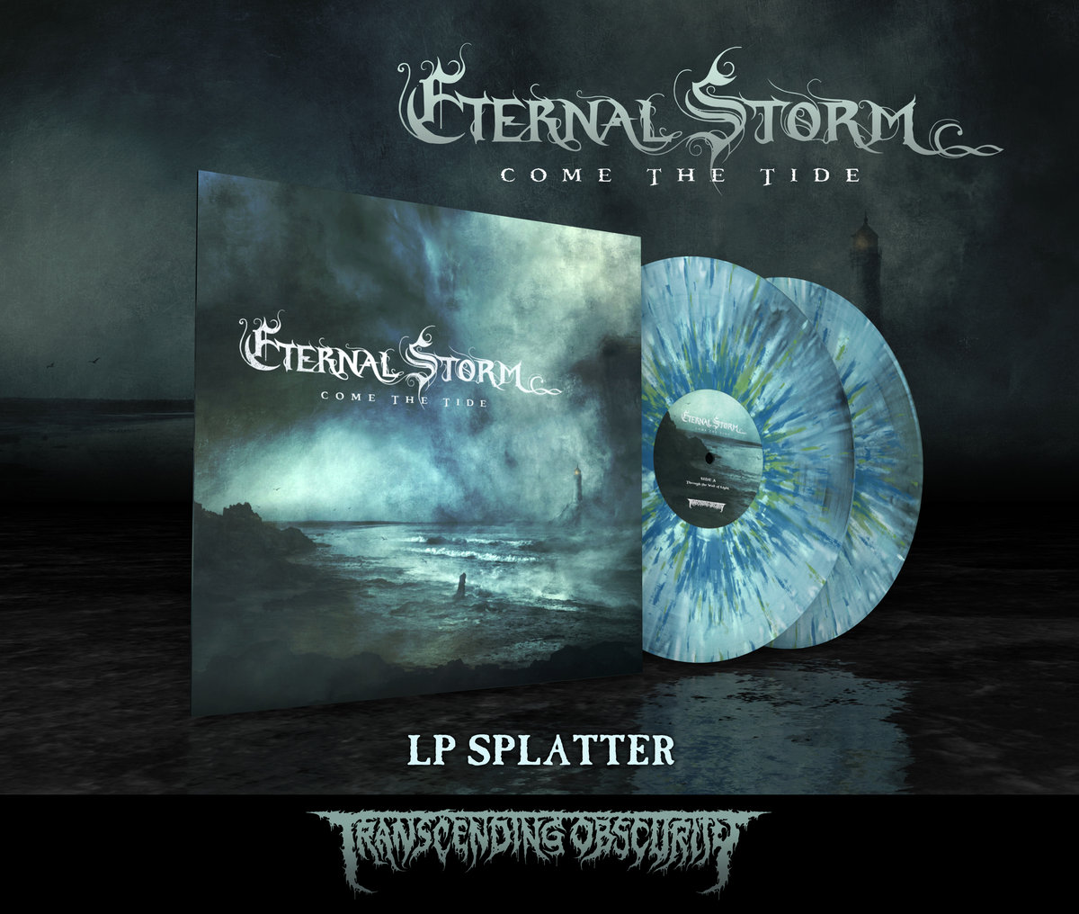 ETERNAL STORM - Come The Tide (Death Metal) Multiple Splatter Double LP (Limited to 75)