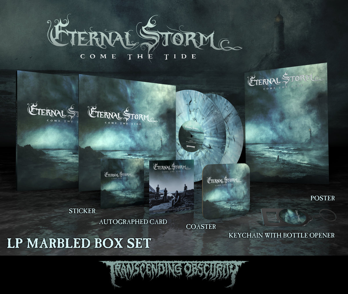 ETERNAL STORM Autographed Marbled Double LP Box Set (Limited to 25)